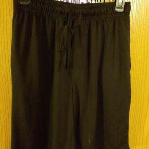 Nwot men's pajama shorts black medium